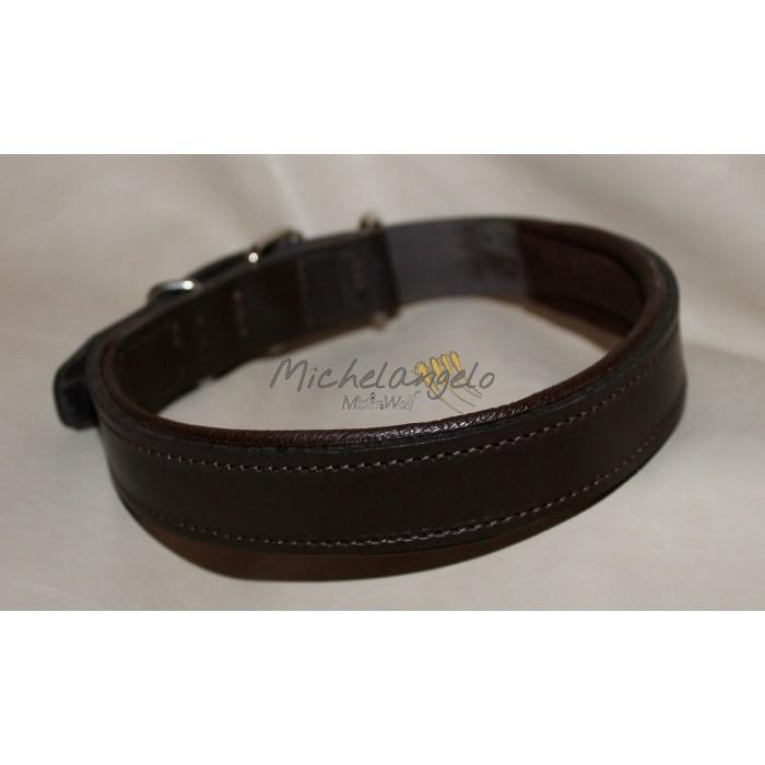 Hopi leather collar