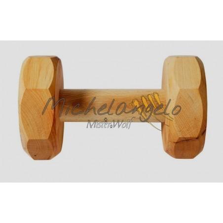 Wooden dumbbell IPO gr 650