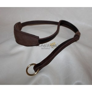 leather collar for dog show