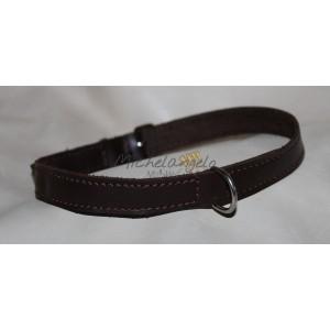 Collana in cuoio/Tag Collar