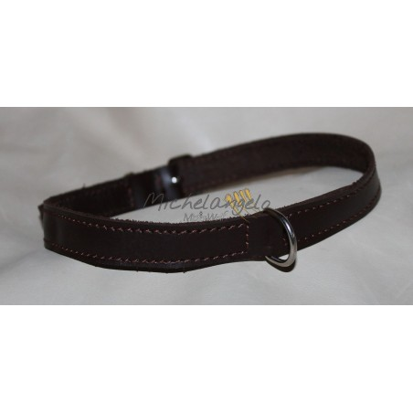 Leather necklace/Collar Tag