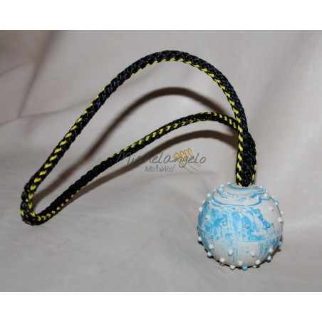 Small ball with rope