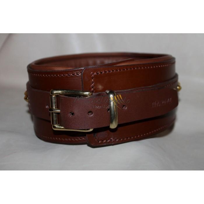 Leather collar Godric