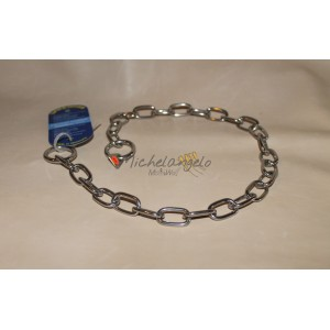Stainless steel collar ovalino
