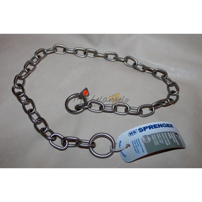 Stainless steel matt collar