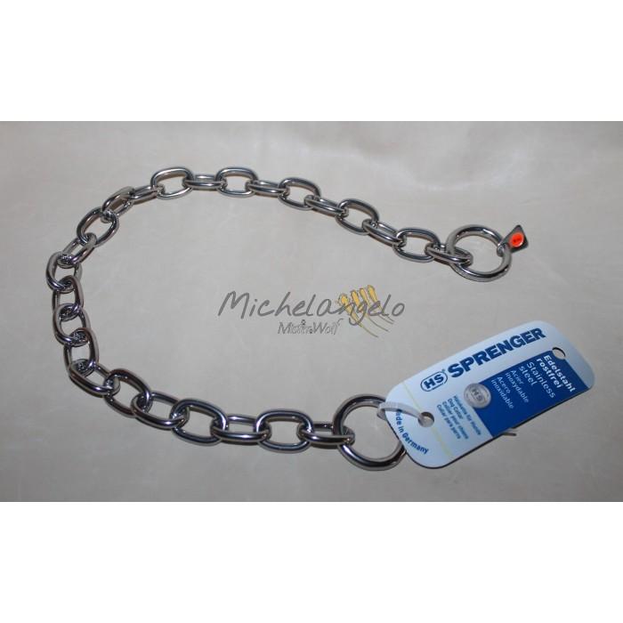 Stainless steel collar