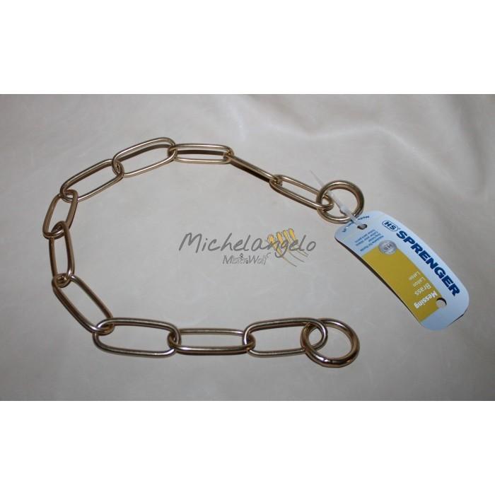 brass collar chain