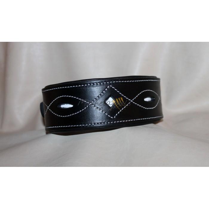 Leather collar Gubbio