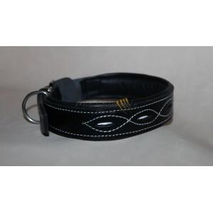 Verona leather collar