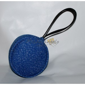 synthetic fabric ball with handle