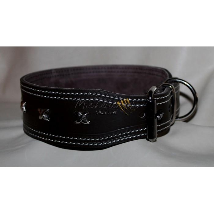 Leather Collar Victoriam