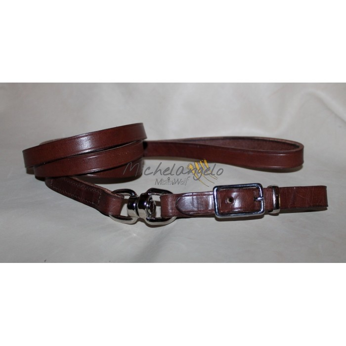 leash leather with buckle