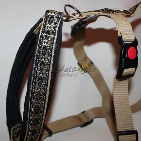 Greyhound Harness and leash Avalon