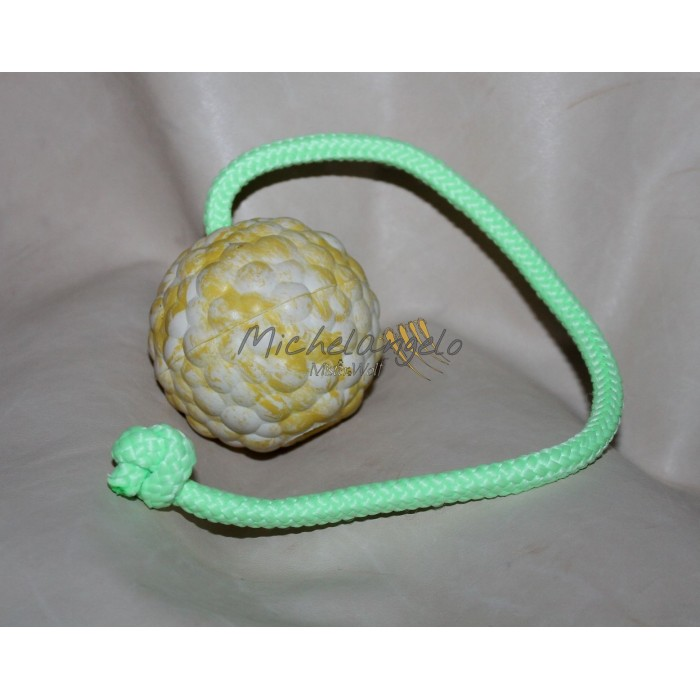 big ball with rope