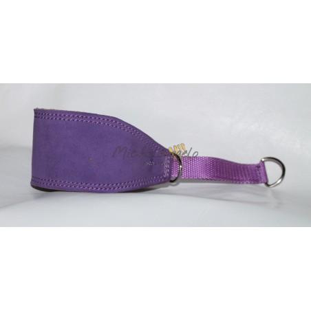 Greyhound collar Viola