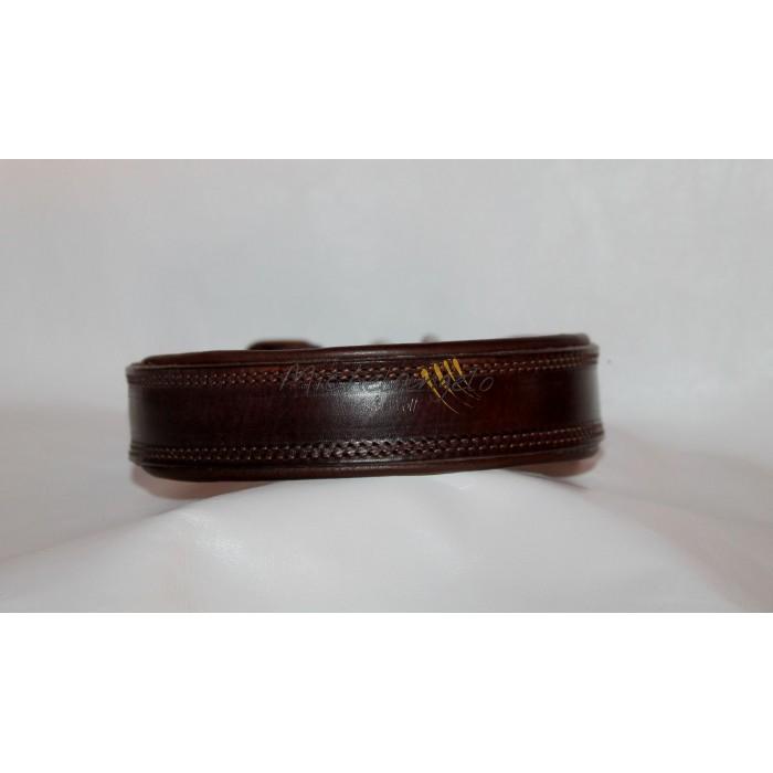 Hopi leather collar Kamiar