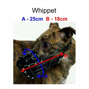 Museruola per Whippet
