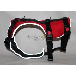 H harness for Greyhound size M