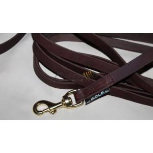 Soft Leather long leash...