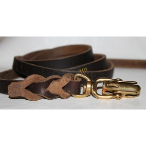 leather long  leash