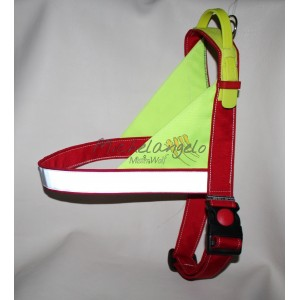 Harness with retractable...