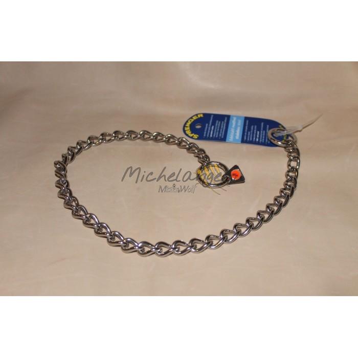 Stainless steel collar linen