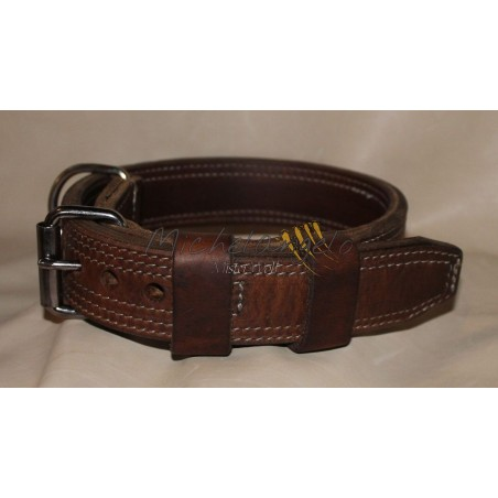 Leather collar Oregon