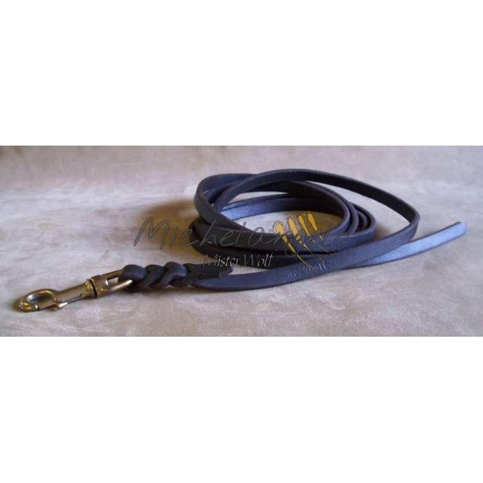 Soft Leather long leash