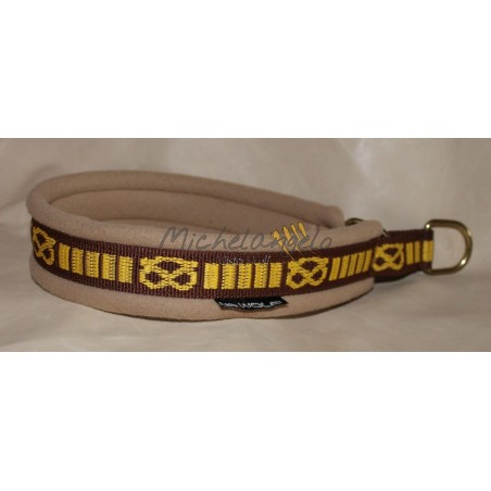 Staffordshire Bull Terrier Fleece Collar