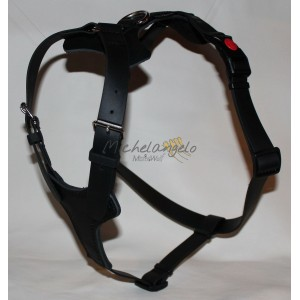 Harness in Leather and Biothane Dafne
